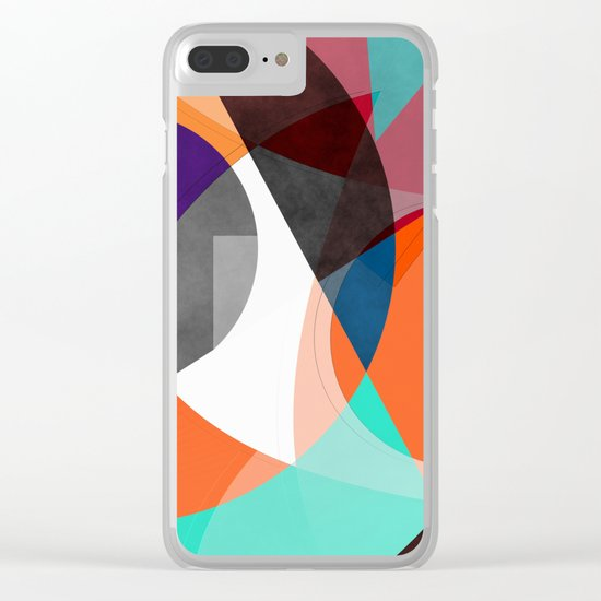 Abstract 2017 004 Clear iPhone Case