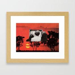 Viewer's Pleasure Framed Art Print