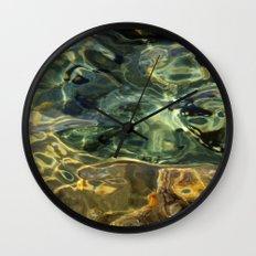 Water surface (3) Wall Clock
