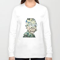homer Long Sleeve T-shirts featuring Homer Color by Drew Kochell