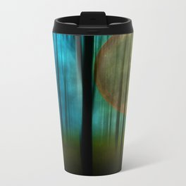 Full Moon Forest Metal Travel Mug