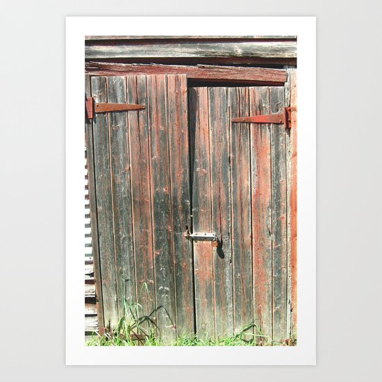 Days gone By! Art Print
