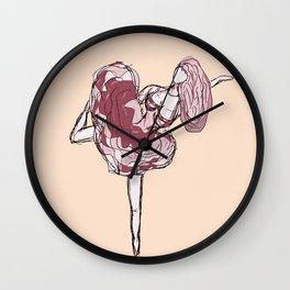 The Ballet Dancer Wall Clock