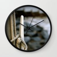 hook Wall Clocks featuring hook by double U double O