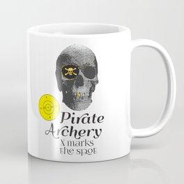 Pirate Archery - X Marks the Spot Coffee Mug