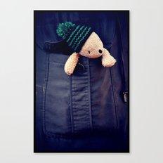 Pocket palin Canvas Print