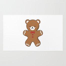 Ginger-Bear Cookie Rug