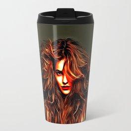 Barbara Palvin - Celebrity Art Travel Mug