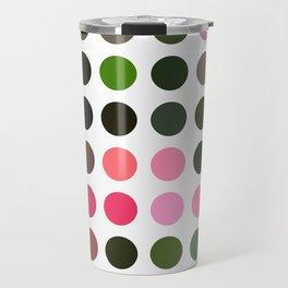 Pink Roses in Anzures 5  Dots Travel Mug