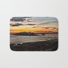 Birnbeck Pier and island Weston-super-Mare Bath Mat