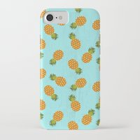 hawaii iPhone & iPod Cases featuring Hawaii by Kakel