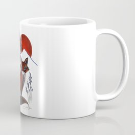 Fox on the Mountain Coffee Mug