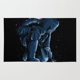Welder In Space Rug