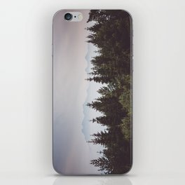 Mountain Range - Landscape Photography iPhone Skin