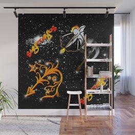 Sagittarius Astrology Sign Wall Mural