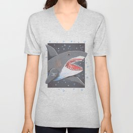 Hark a Shark Unisex V-Neck