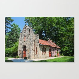 Lourdes University-  Portiuncula  Chapel in the Spring IV Canvas Print