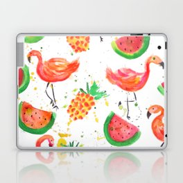 Flamingo Watermelon Laptop & iPad Skin
