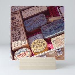 Vintage Meds Mini Art Print