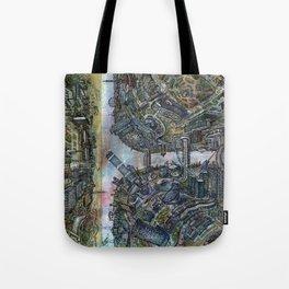 Tselinograd - Astana - Inception Tote Bag