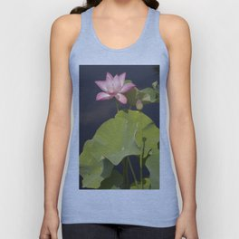 Pink Lotus by Teresa Thompson Unisex Tank Top