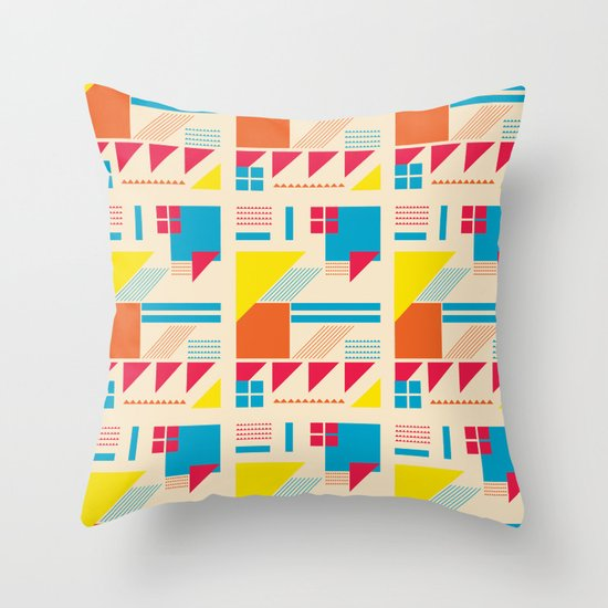 Simple Times. Throw Pillow