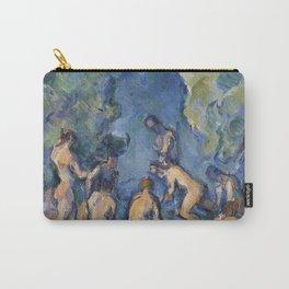 Bathers (Baigneurs) by Paul Cézanne Carry-All Pouch