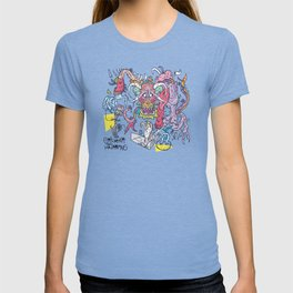 Flowery Fruit Dragon T-shirt