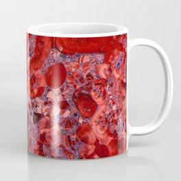 Marble Ruby Blood Red Agate Coffee Mug
