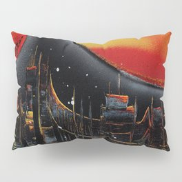 Moonlight Over The Shifting City Pillow Sham