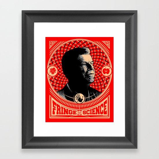 Walter Bishop - Fringe Science (RED) Framed Art Print