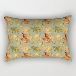 Sage and leaves Rectangular Pillow