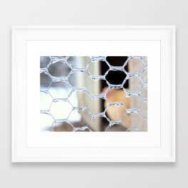 Icy Days #2 - Cold Chicken Framed Art Print