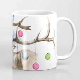 Christmas Elk Animandala Coffee Mug