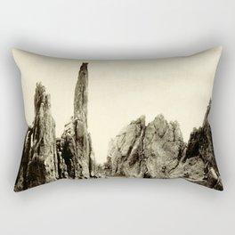 GARDEN OF THE GODS 1887 Rectangular Pillow