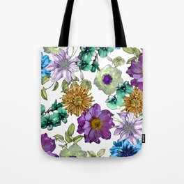 Botanical Haze Tote Bag
