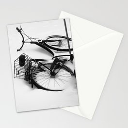 Snow Bicycle Stationery Cards