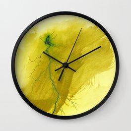 abstract thunder 2 Wall Clock