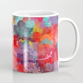 Laredo map Texas painting 2 Coffee Mug