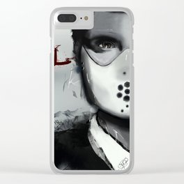 Will & Hannibal Masked Clear iPhone Case
