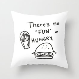 FUNGRY Throw Pillow