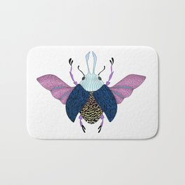 Beetle #3 Color Bath Mat