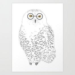 You-Know-Hoo? Art Print