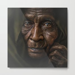Grandmother 07 Metal Print