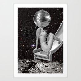 boule a facette Art Print