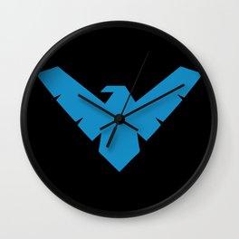 Minimal Superheroes - Nightwing Wall Clock