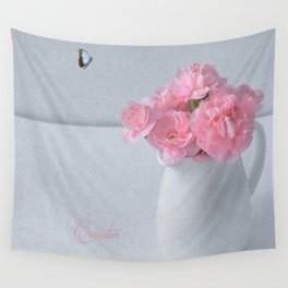 Carnation Wall Tapestry