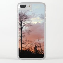 Finding Solace Clear iPhone Case