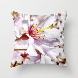 The Cherry Blossom Throw Pillow