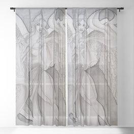 Heaven Sheer Curtain